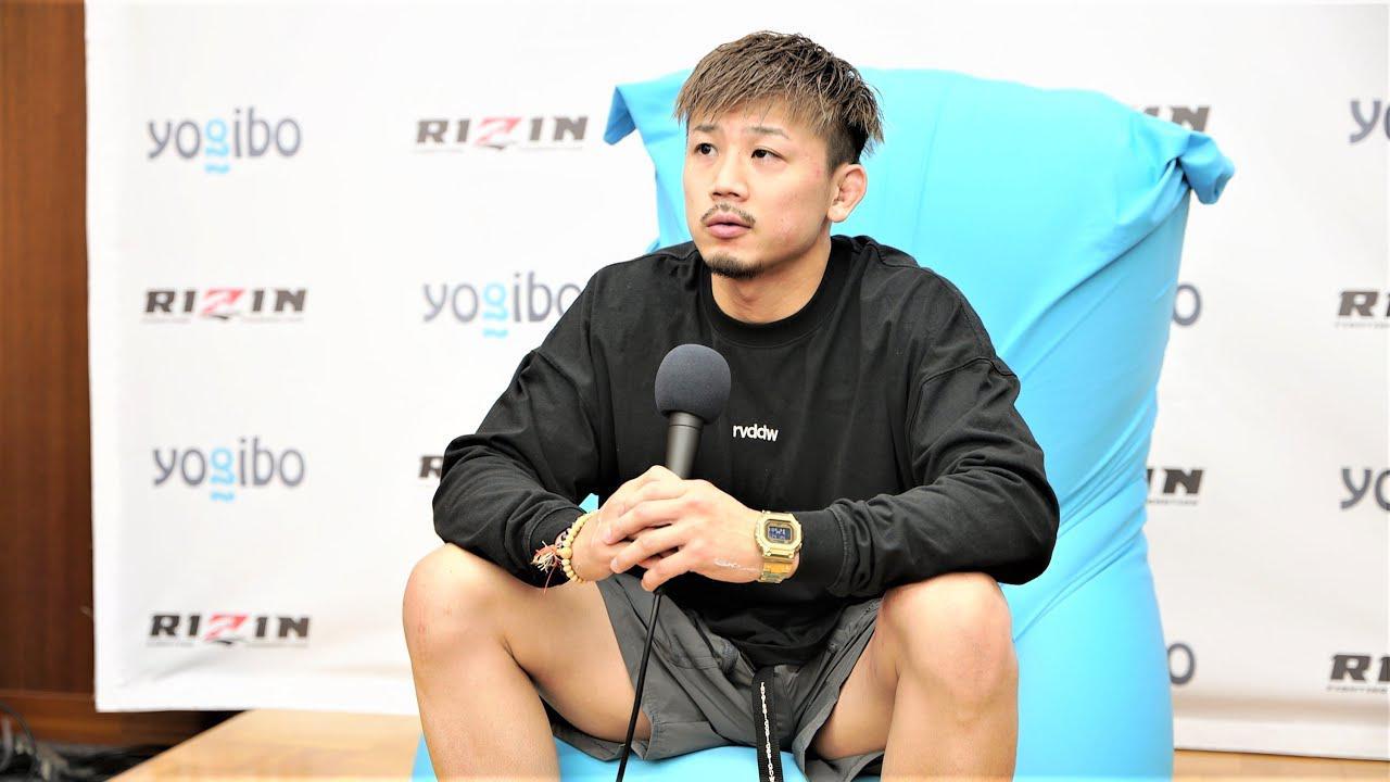 画像: Yogibo presents RIZIN.29 獅庵 試合後インタビュー youtu.be