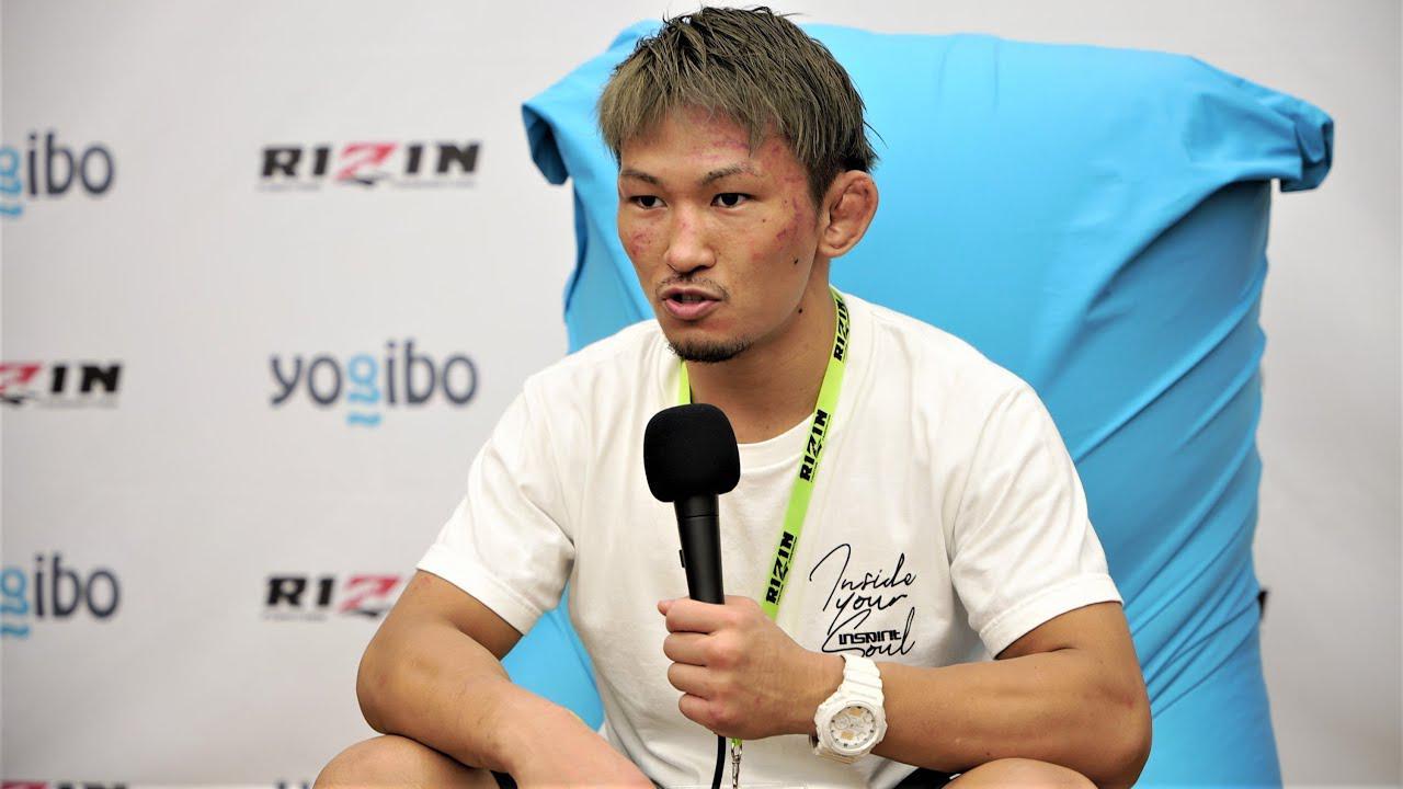 画像: Yogibo presents RIZIN.29 伊藤空也 試合後インタビュー youtu.be