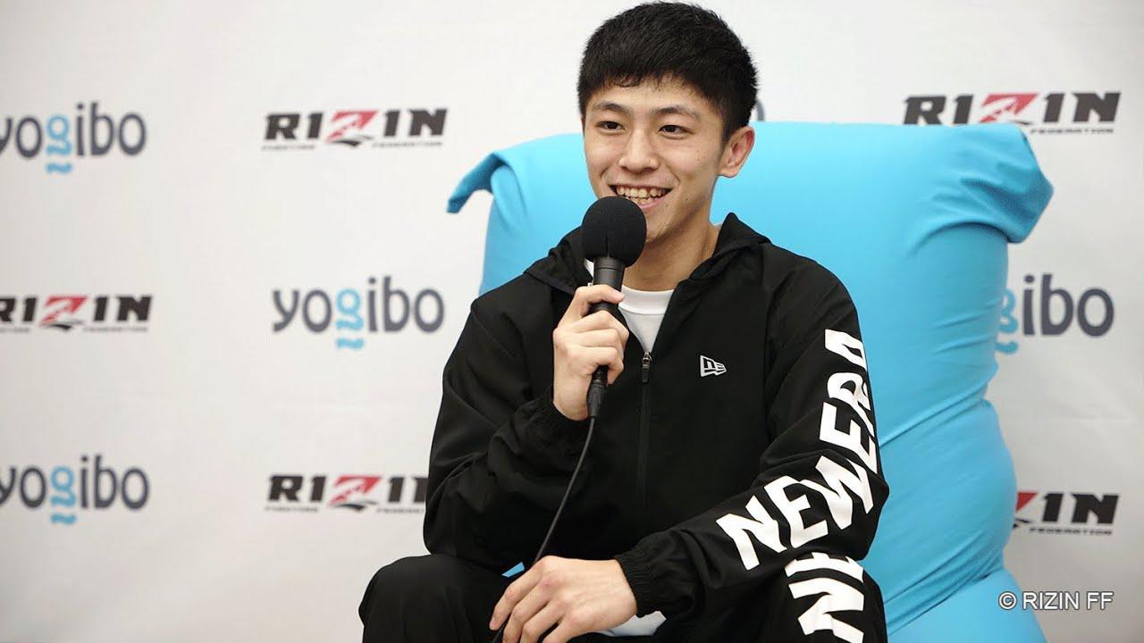 画像: Yogibo presents RIZIN.29 吉成名高 試合後インタビュー youtu.be