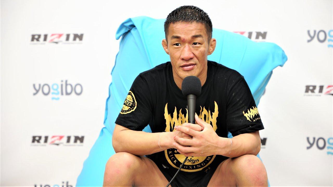 画像: Yogibo presents RIZIN.29 大塚隆史 試合後インタビュー youtu.be
