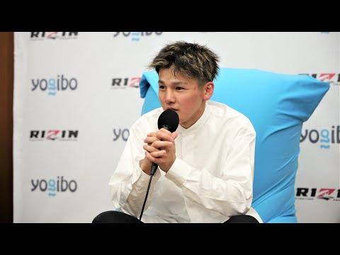 画像: Yogibo presents RIZIN.29 誓 試合後インタビュー youtu.be