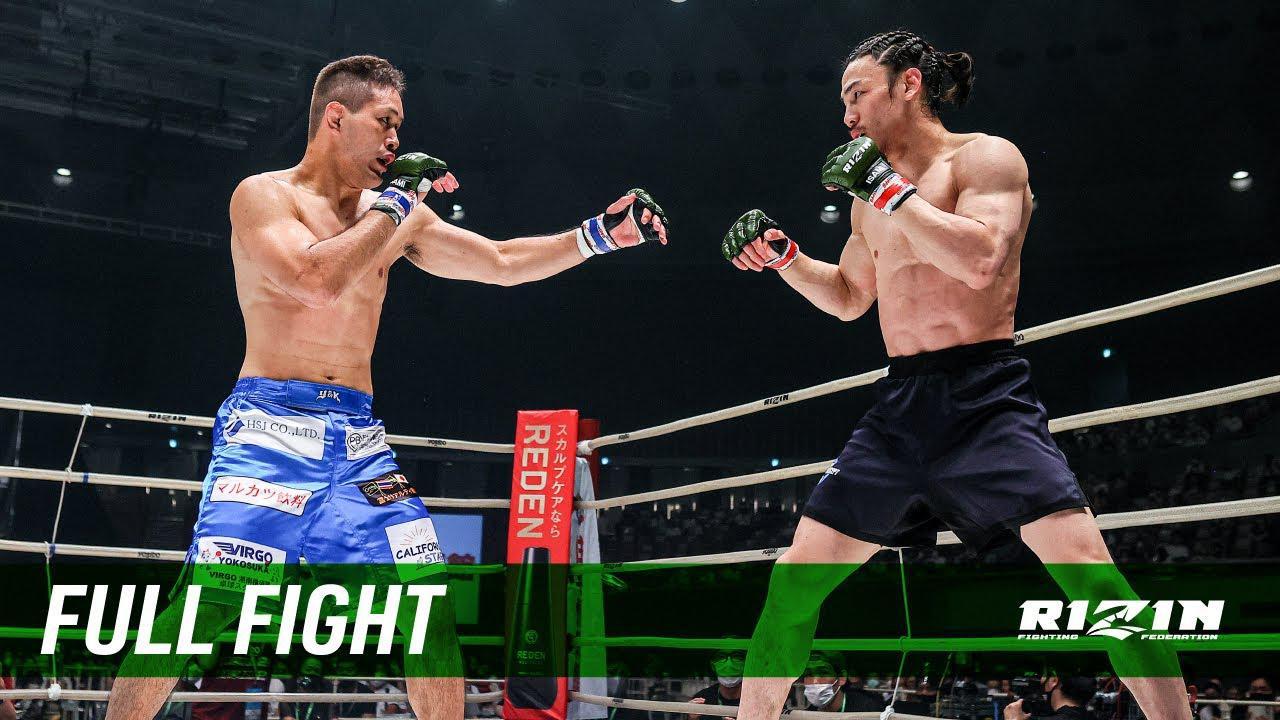 画像: Full Fight | 矢地祐介 vs. 川名TENCHO雄生 / Yusuke Yachi vs. Yuki TENCHO Kawana - RIZIN.29 youtu.be
