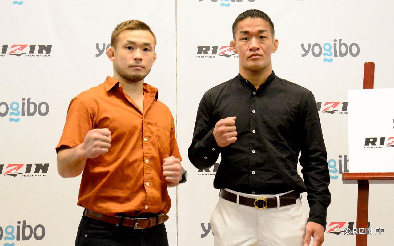 画像: 扇久保博正(左)、大塚隆史(右)