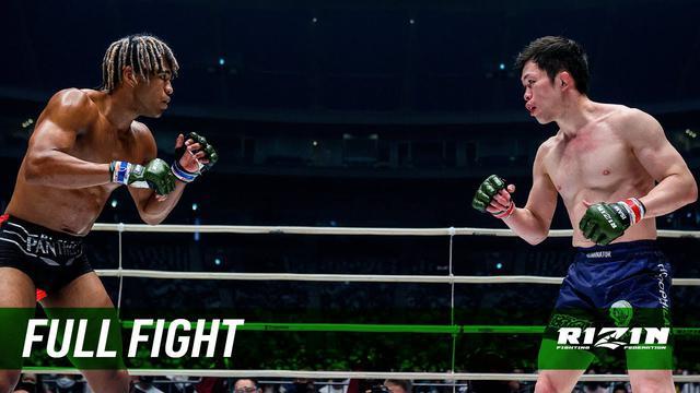 """画像: Full Fight   弥益ドミネーター聡志 vs. """"ブラックパンサー""""ベイノア / Satoshi""""Dominator""""Yamasu vs. """"BlackPanther""""Beynoah youtu.be"""