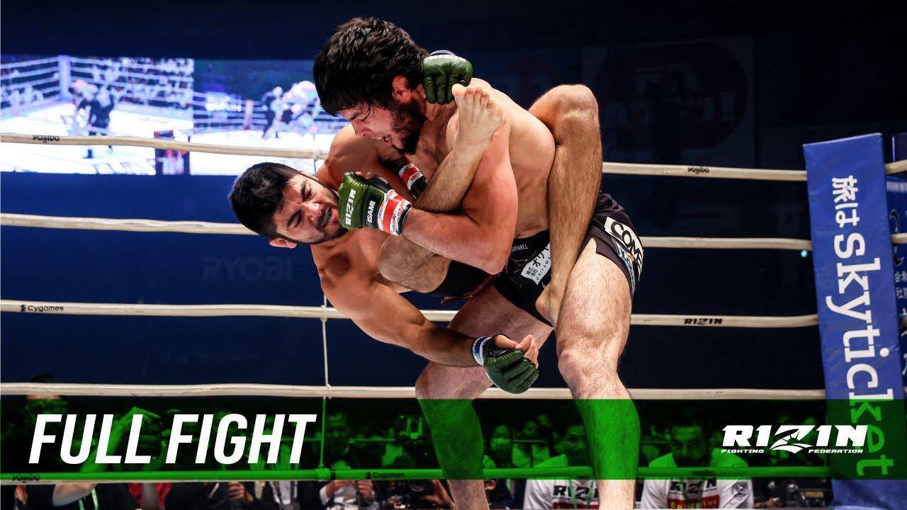 画像: Full Fight | トフィック・ムサエフ vs. ホベルト・サトシ・ソウザ / Tofiq Musayev vs. Roberto Satoshi Souza - RIZIN.28 youtu.be