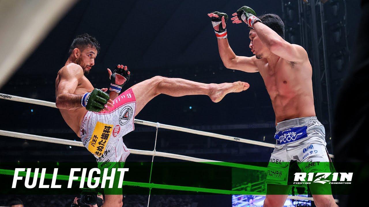 画像: Full Fight | 朝倉未来 vs. クレベル・コイケ / Mikuru Asakura vs. Kleber Koike - RIZIN.28 youtu.be