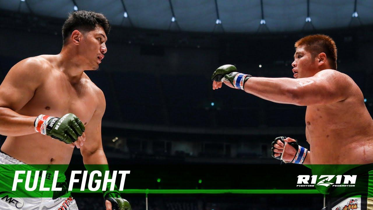 画像: Full Fight   シビサイ頌真 vs. スダリオ剛 / Shoma Shibisai vs. Tsuyoshi Sudario - RIZIN.28 youtu.be