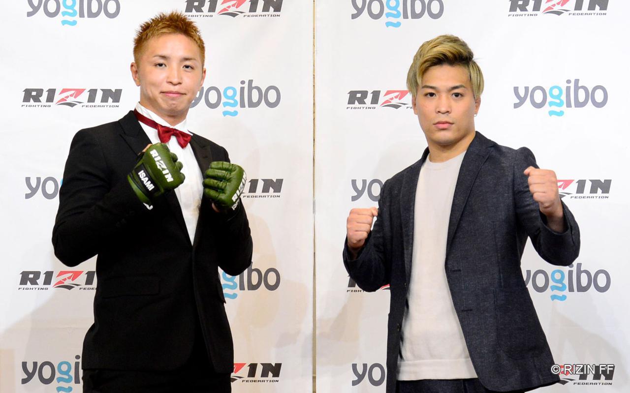画像: 久保優太(左)、太田忍(右)