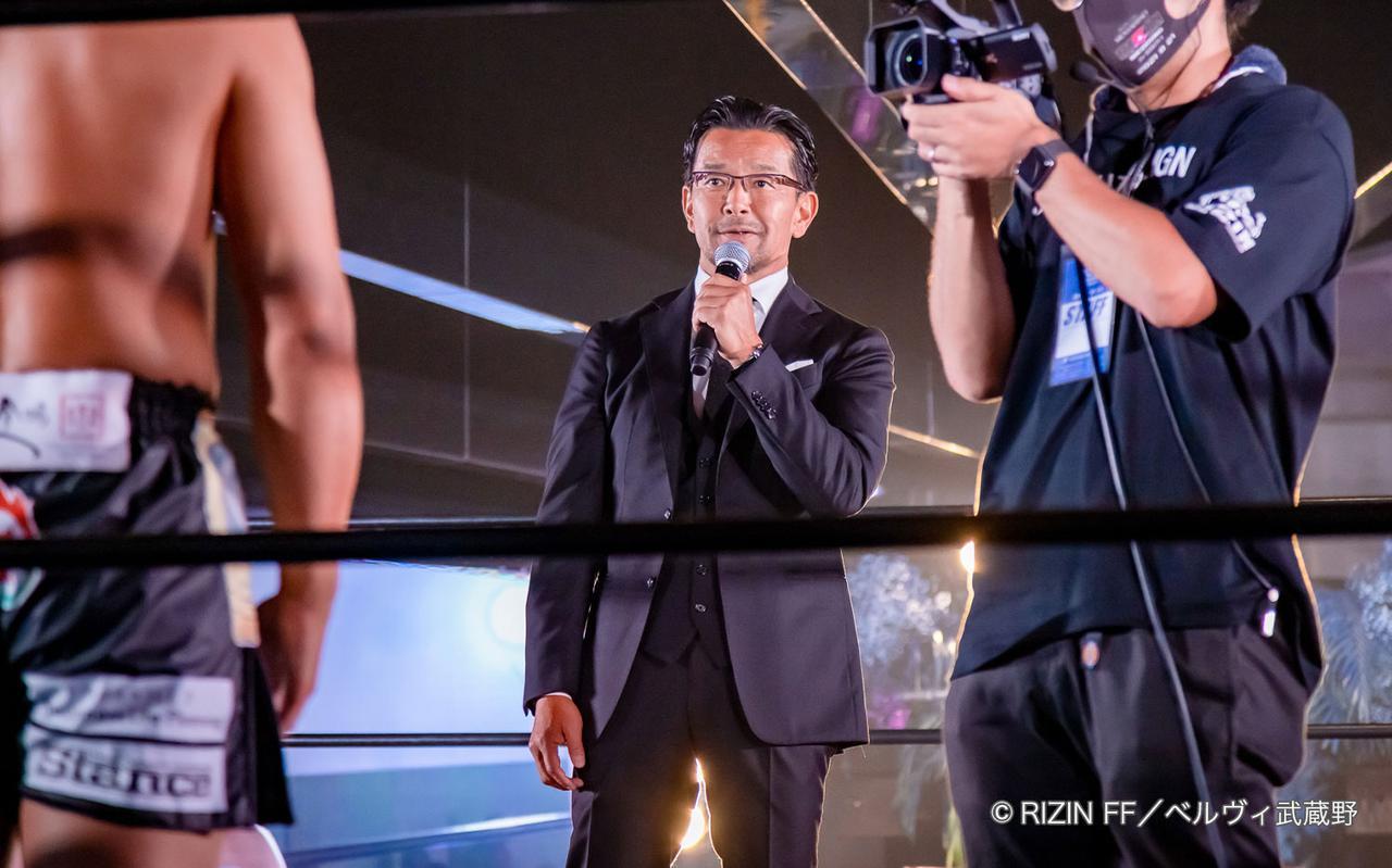 画像2: HIROYA「引退試合をRIZINで」と直談判!榊原CEO「大晦日かな」