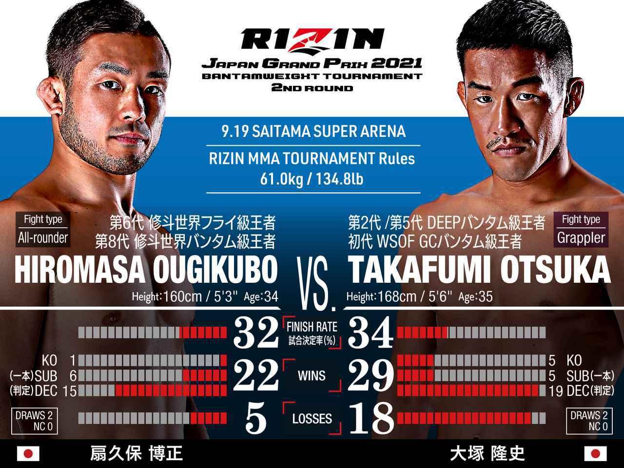 画像: Hiromasa Ougikubo vs Takafumi Otsuka