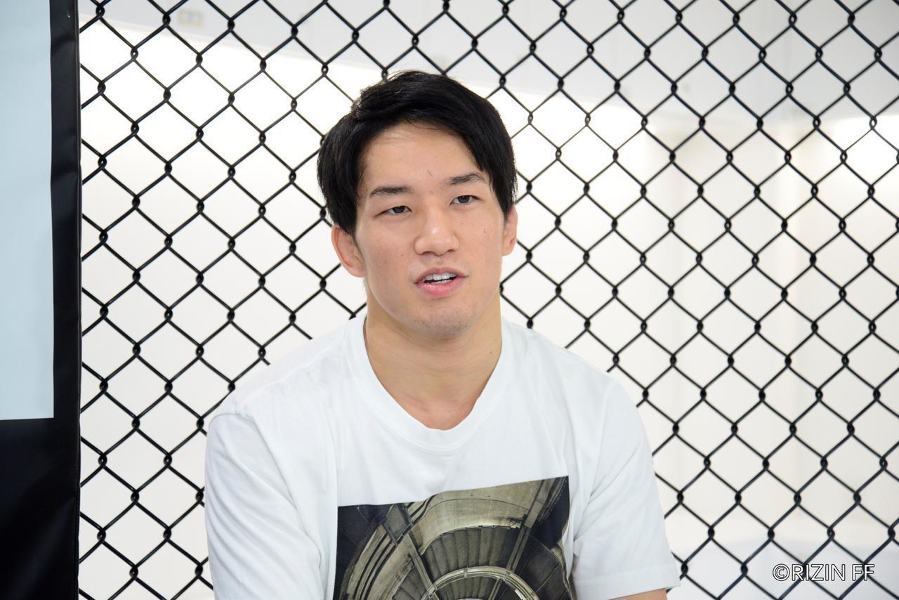 画像1: 海「速いステップで翻弄したい」昇侍「MMAの奥深さ見せたい」Yogibo presents RIZIN.30 公開練習 - RIZIN FIGHTING FEDERATION オフィシャルサイト
