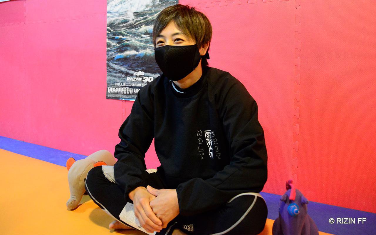 画像: 9年振りの再戦、浜崎のイメージする展開とは?