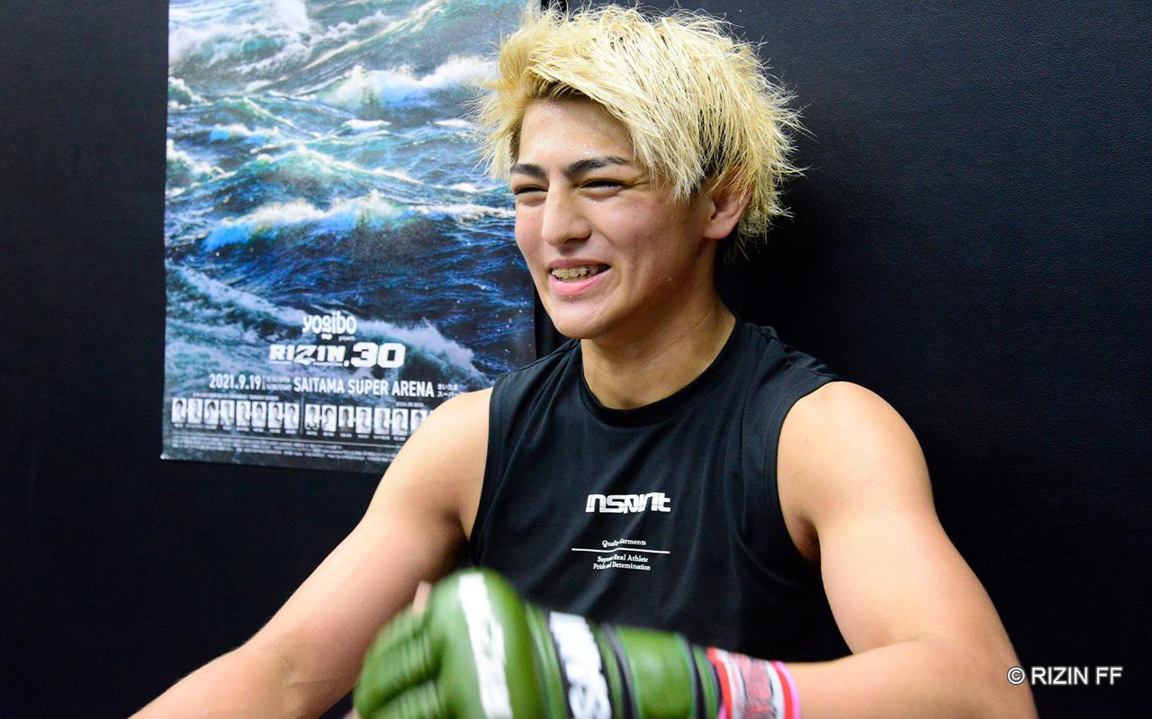 画像: 鈴木「やりましょう、漢同士の勝負!」Yogibo presents RIZIN.30 公開練習 - RIZIN FIGHTING FEDERATION オフィシャルサイト