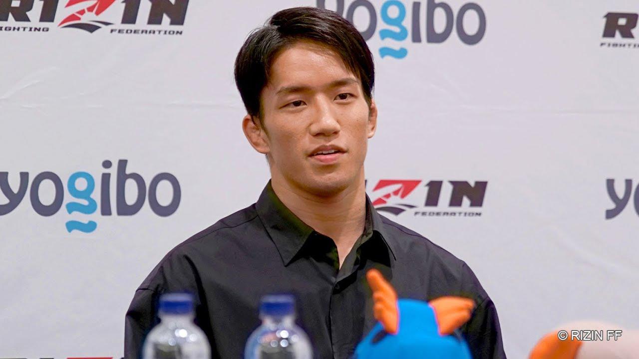 画像: 朝倉海 試合前インタビュー Yogibo presents RIZIN.30 youtu.be