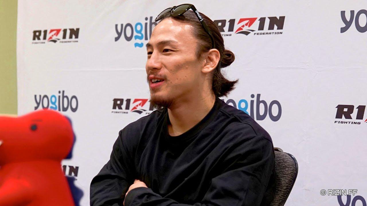 画像: 矢地祐介 試合前インタビュー Yogibo presents RIZIN.30 youtu.be