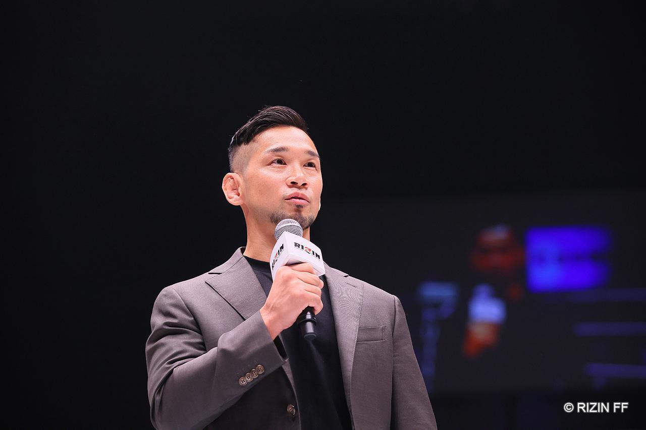 画像: 石渡伸太郎  挨拶「本当に幸せな格闘技生活でした」