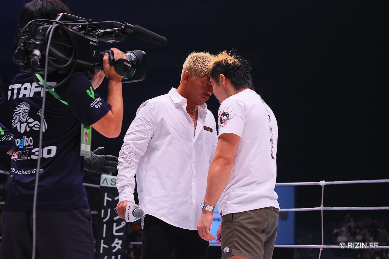 画像2: 鈴木「(奥田に)マットを舐めさせてやるからよろしく」