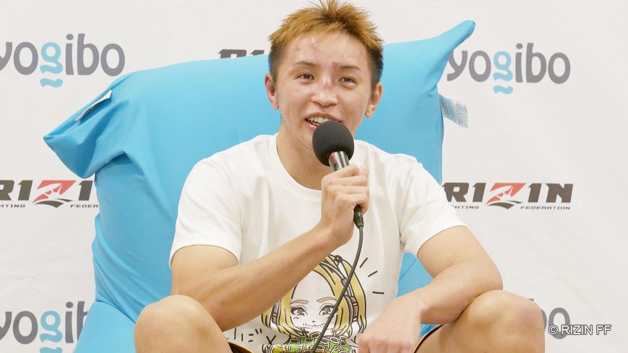 画像: 久保優太  試合後インタビュー / Yogibo presents RIZIN.30 youtu.be