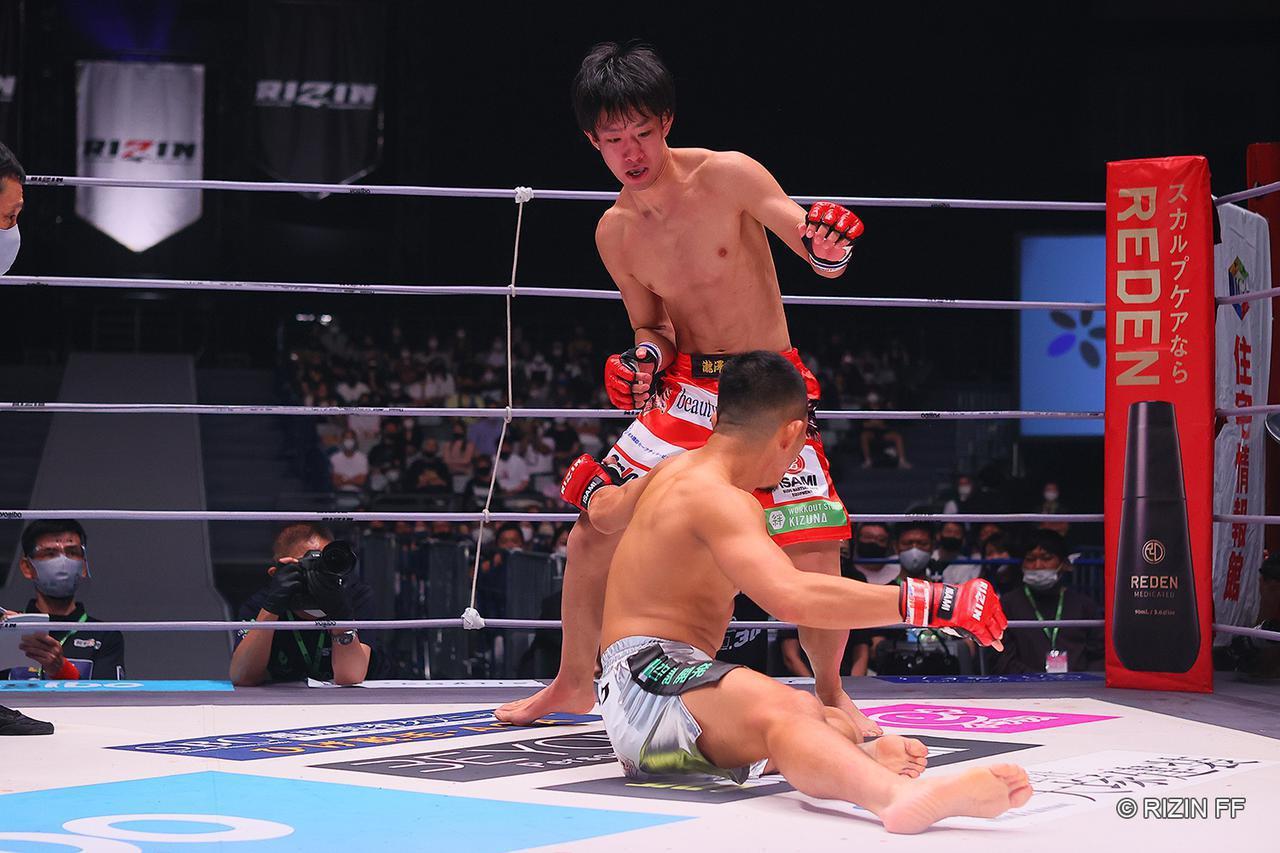 画像: 元谷に1R TKO勝ちの瀧澤「俺がこのトーナメントのダークホースだ!」