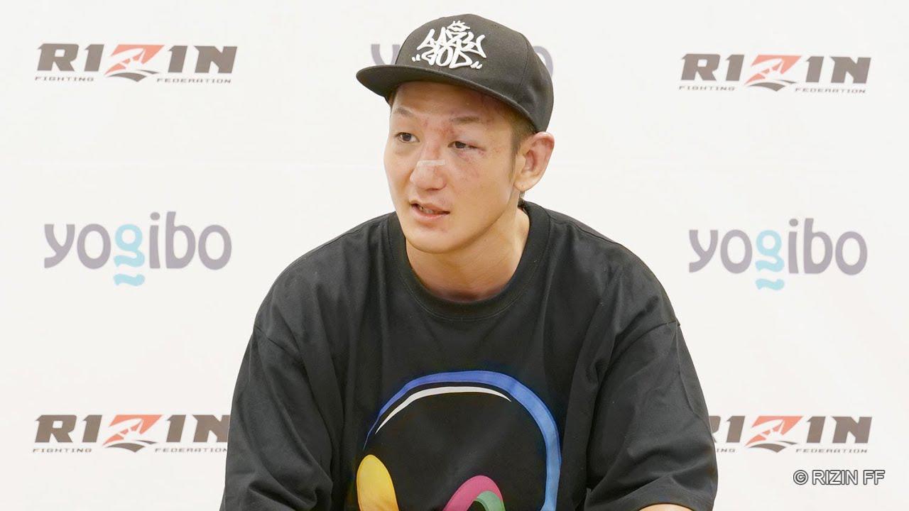 画像: 佐々木憂流迦 試合後インタビュー / Yogibo presents RIZIN.30 youtu.be