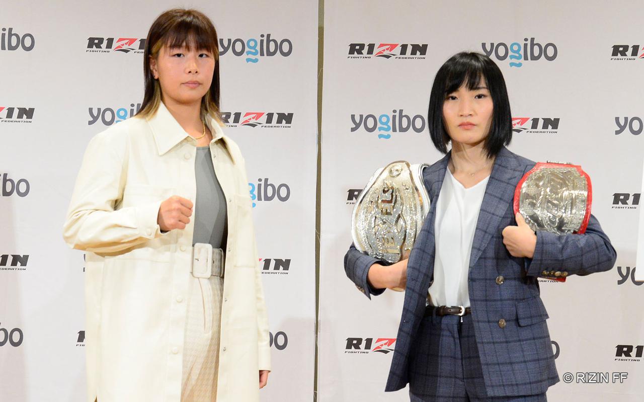 画像: Kanna Asakura vs. Saori Oshima