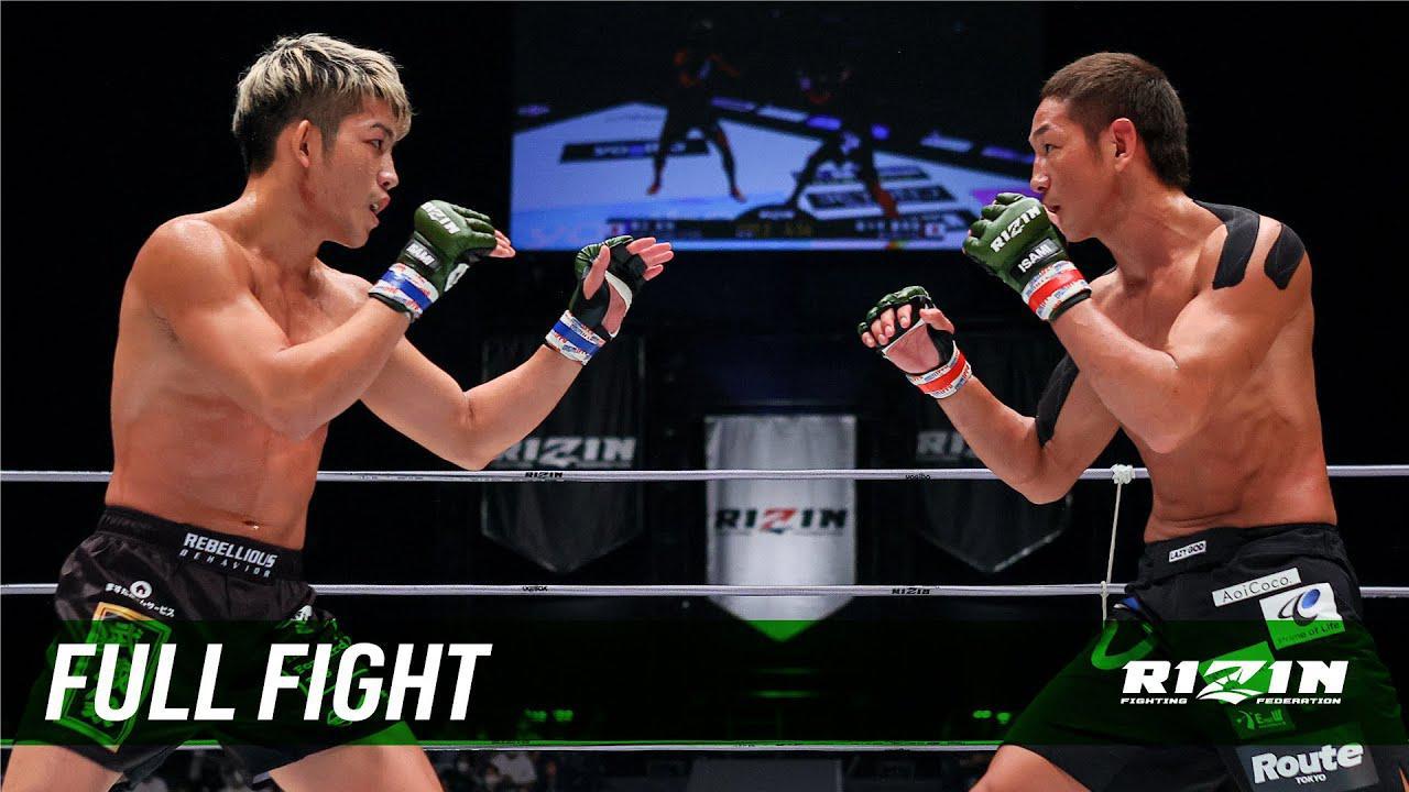 画像: Full Fight | 佐々木憂流迦 vs. 堀江圭功 / Ulka Sasaki vs. Yoshinori Horie - RIZIN.30 youtu.be