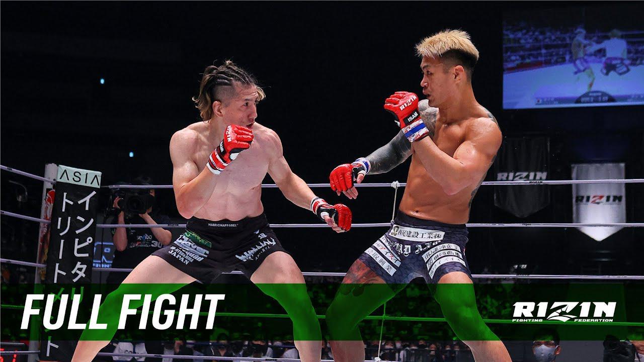 画像: Full Fight | 井上直樹 vs. 金太郎 / Naoki Inoue vs. Kintaro - RIZIN.30 youtu.be