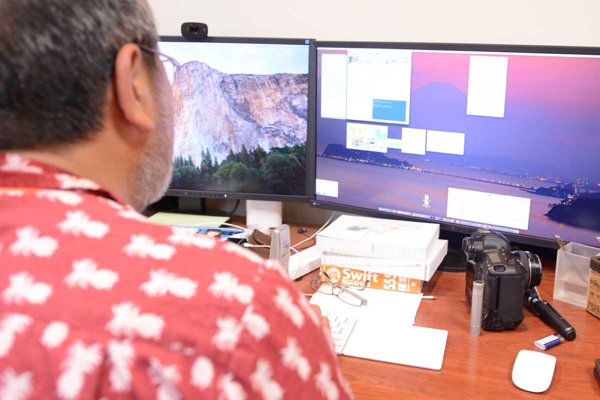 画像: 現役で、電子カルテのプログラミングにも携わる高橋先生。「WINE STYLE」は、Mac派ドクターのための、Mac派のかゆい所に手が届く、Mac専用電子カルテ。