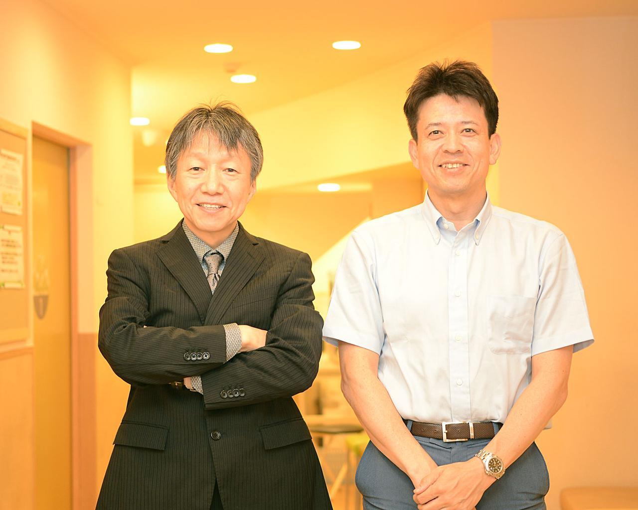 画像: 野間口 聡 | Satoshi NOMAGUCHI(左) 田中 勝巳 | Katsumi TANAKA(右) www.yoga-urban.jp