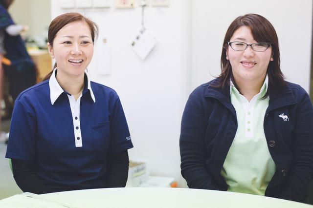 画像: 左から、五島さん、村島さん。