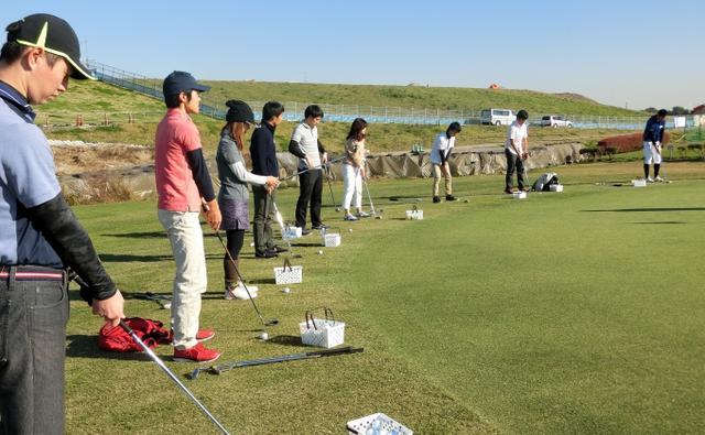 画像2: 第3回バーガーゴルフ!初めてのゴルフ体験