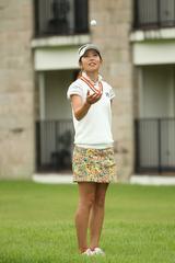 画像: 自分の好きなところは、ある意味マイペースなところかな。自分がやるべき方向性は決まっているから、ゴルフ人生を突き通せればいいなって思います!