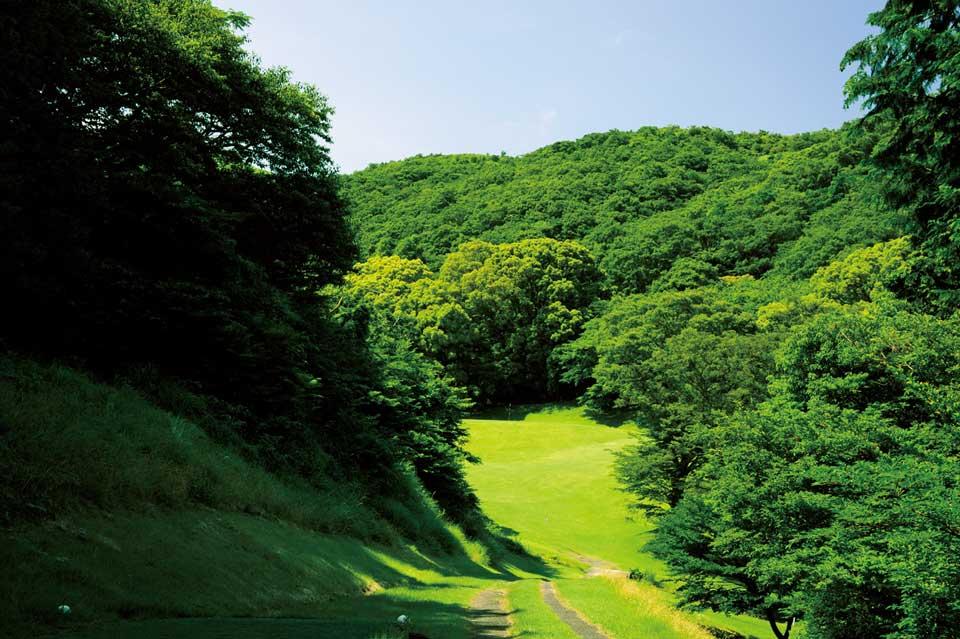 """画像: """"森の9ホール""""を大冒険! 湯河原カンツリー倶楽部 真鶴コース - みんなのゴルフダイジェスト"""