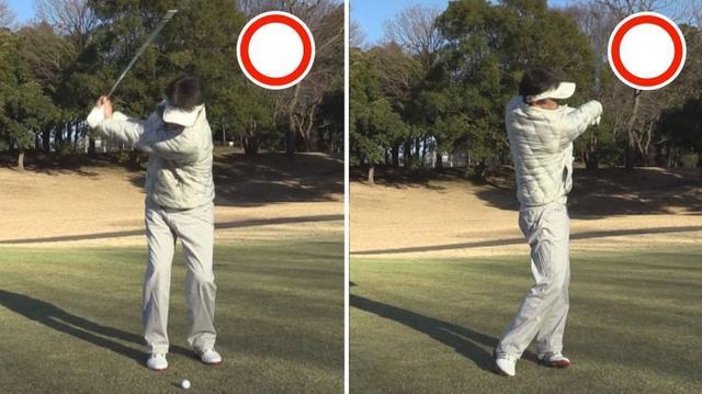 画像2: POINT3 体の回転で距離感を出す