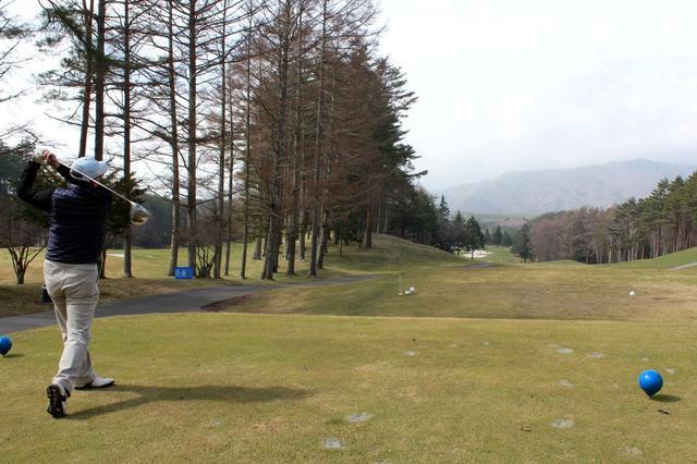画像1: 富士山、近っ!!フォレスト鳴沢G&CC