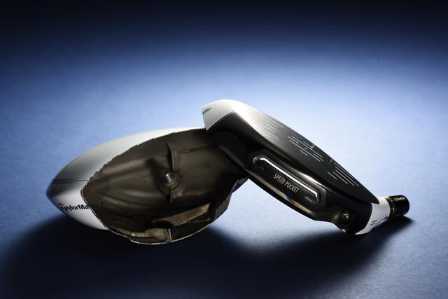 画像: グローレ Fドライバーのヘッドを真っぷたつ。貫通している溝が飛びの秘密