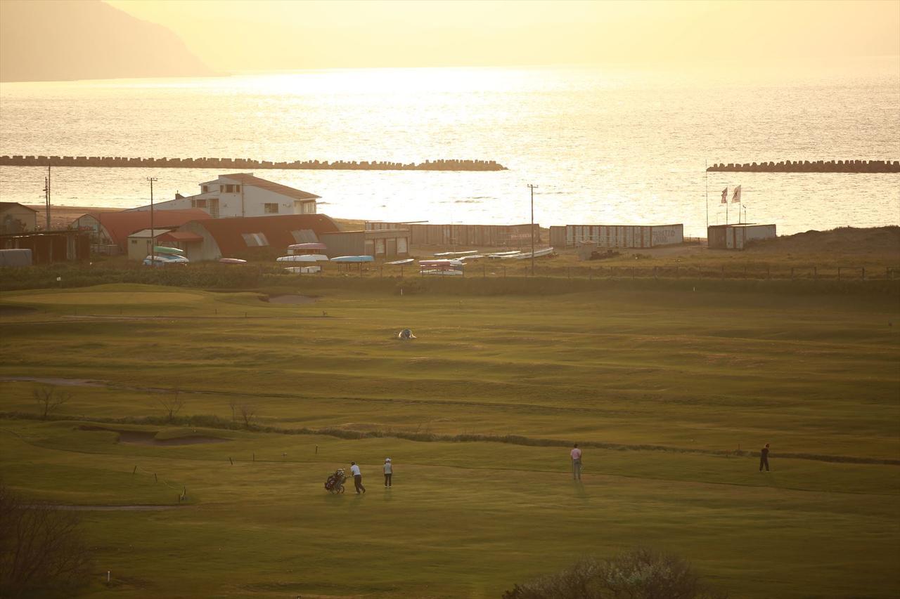 画像: 青空澄みわたる小樽の旧コースへ!