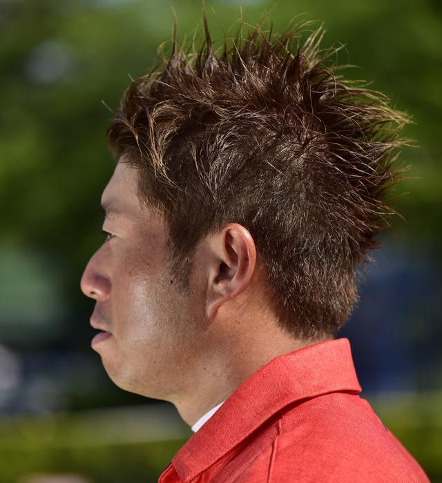 画像: 整髪料はポマードだそうです