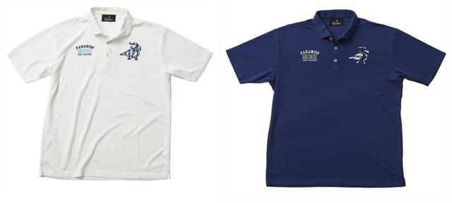 画像: カラーパンツに合わせやすいシンプルポロシャツ