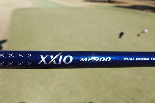 画像: ゼクシオ MP900 カーボンシャフト
