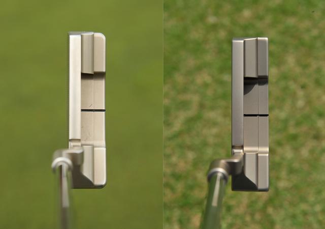 画像: 左が昨年まで使っていたモデル。右が今回新たに手にしたキャメロン