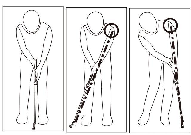 画像: 左肩からクラブヘッドまで一体化するように振れるからブレが少ない