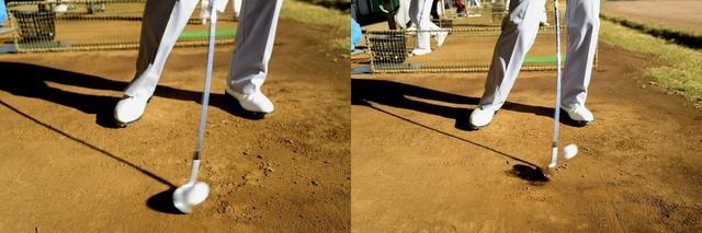 画像: 土の上からダウンブローを覚えた