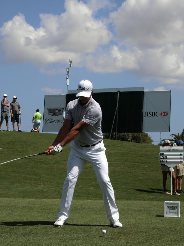 画像2: アダム・スコットのココが凄い! PGAツアー スウィング超解説①