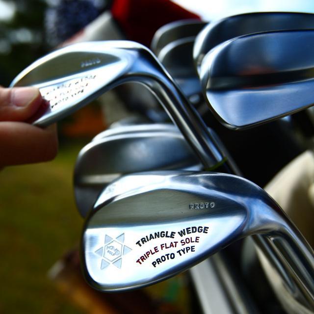 画像: 三角ソールトライアングルウェッジ2( TRIPLE FLAT SOLE)ロフト追加!|ゴルフダイジェスト公式通販サイト「ゴルフポケット」