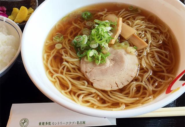 画像: 王道の醤油ラーメンを男子プロ開幕コースで食べよう!東建多度CC・名古屋