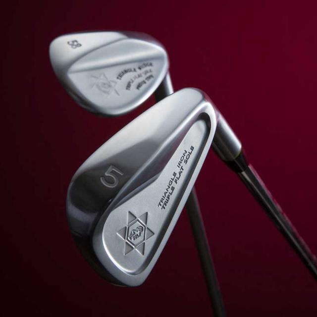 画像: 【New】三角ソールトライアングルアイアン2(TRIPLE FLAT SOLE)(4I / 5I〜PW)|ゴルフダイジェスト公式通販サイト「ゴルフポケット」