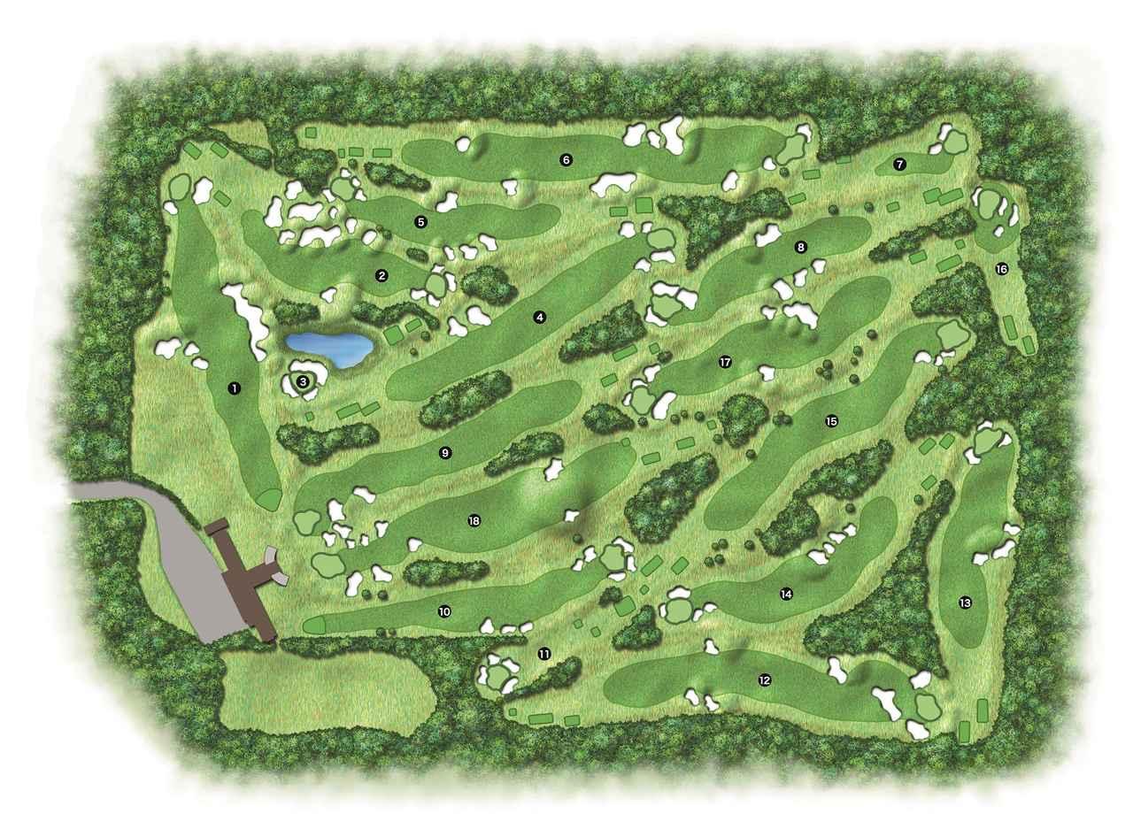 画像: 【幻のゴルフ場】 わずか8年で姿を消した東京GC朝霞コース - みんなのゴルフダイジェスト