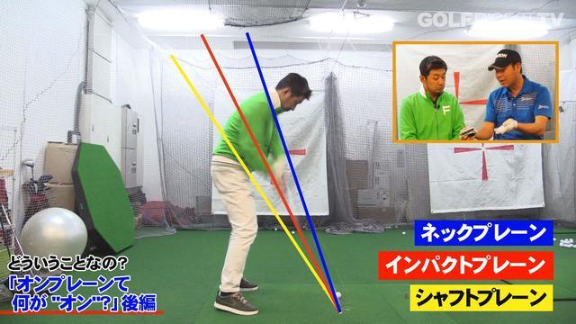 画像: 野村さんのスウィングも徹底分析