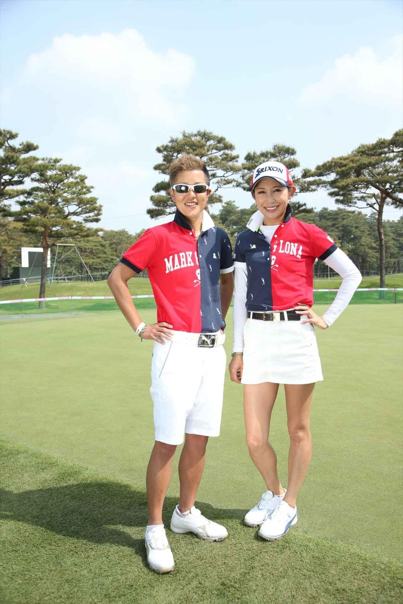 画像: 右は金田久美子選手で、左はキャディの土田麻依子さん。選手&キャディのパターンもありますね。